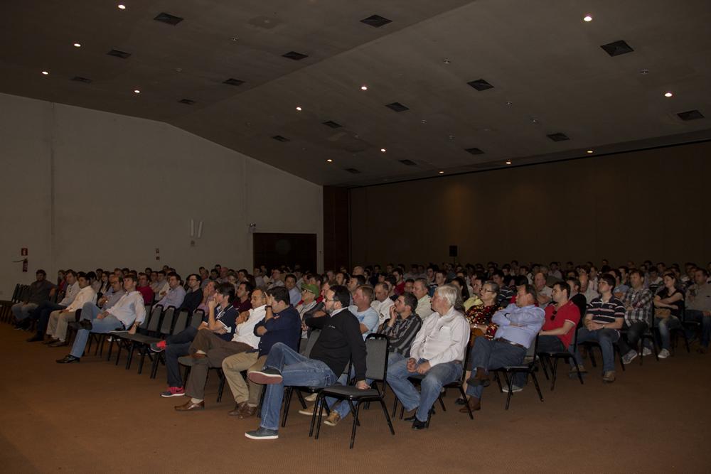 Paulo Herrmann palestra em Santa Maria